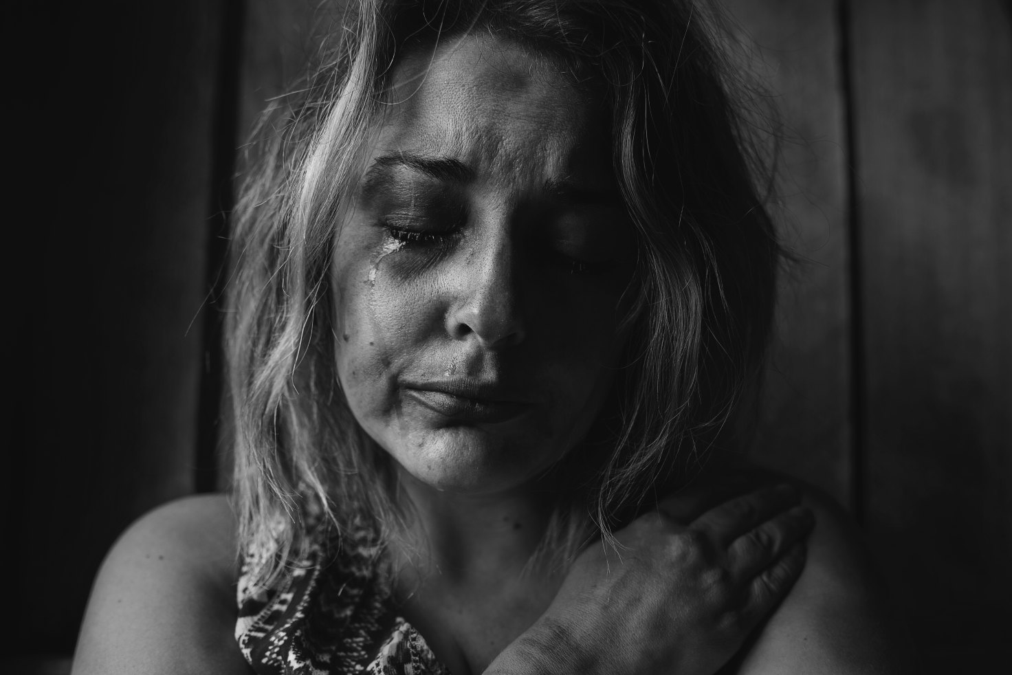Weinende Frau / crying woman